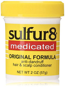 Sulfur8 Medicated Regular Formula Anti-Dandruff Hair and Scalp Conditioner 2oz