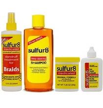 Sulfur8 Anti-Dandruff Hair & Scalp Care 4-piece Set