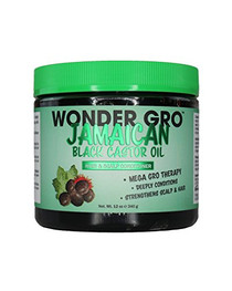 Wonder Gro Jamaican Black Castor Oil Hair Grease Styling Conditioner 12oz