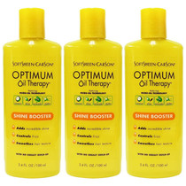 SoftSheen Carson Optimum Oil Therapy Shine Booster, 3.4 oz (3-PACK)