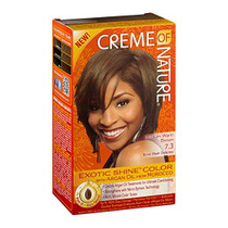 Creme of Nature Exotic Shine Color, Medium Warm Brown 7.3oz