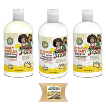 Fro Babies Hair  Moisturizing Shampoo, Conditioner and Leave-in Conditioner with African Shea Butter