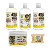 Fro Babies Hair  Moisturizing Shampoo, Conditioner , Leave-in Conditioner and Gelle with African Shea Butter