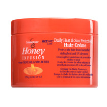 Strong Ends Honey Infusion With Olive Oil and Shea Butter Daily Sun & Heat Protection Hair Creme 6 oz./170 g