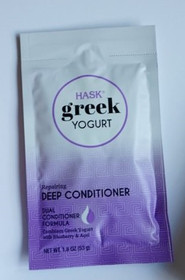 Hask Greek Yogurt Repairing Deep Conditioner with Blueberry & Açaí set of 12