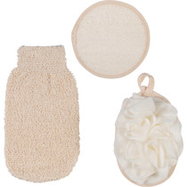 SPA SOLUTIONS: SPA RETREAT BODY EXFOLIATING SET (3 PCS.)