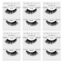 Kara Beauty 100% Human Hair  Eyelashes- S9 (Pack of 6)