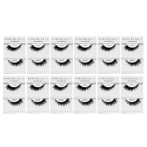 Kara Beauty 100% Human Hair  Eyelashes- S10 (Pack of 12)