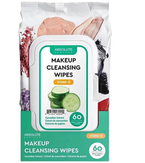 Absolute New York Make-Up Cleansing Tissues Cucumber Extract (60 CT)