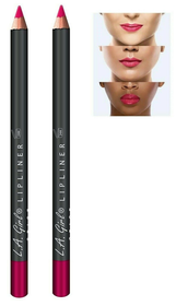 L.A Colors Lip Liner, Party Pink - GP533 - (PACK OF 2)
