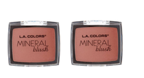L.A COLORS Mineral Blush - TENDER ROSE (PACK OF 2)