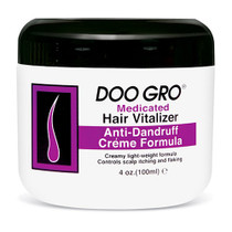 Doo Gro Anti Dandruff Creme Hair Vitalizer 4 oz