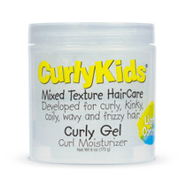 CurlyKids Curly Gel Curl Moisturizer Light Control 6 oz