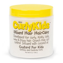 CurlyKids Custard for Kids 6 oz