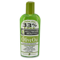 Hollywood Beauty Olive Oil Fights Hair Breakage 8 oz