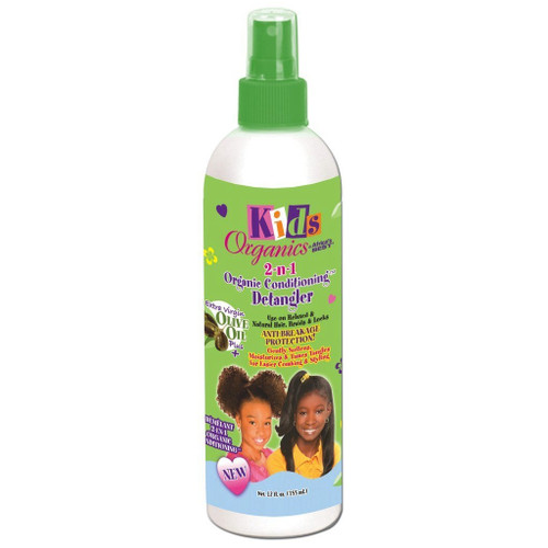 Africa's Best Kids Originals 2-n-1 Natural Conditioning Detangler 12 oz