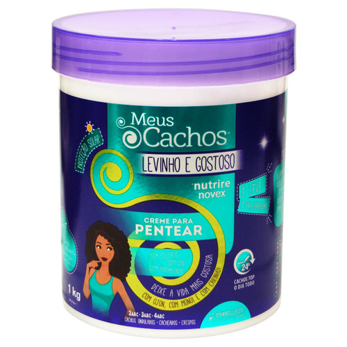 Novex Haircare My Curls Super Curly Leave In Conditioner 35.3 oz