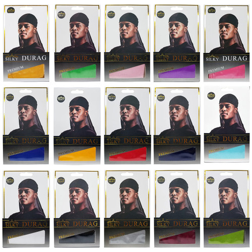 Silky Durag for Men (PICK YOUR COLOR)