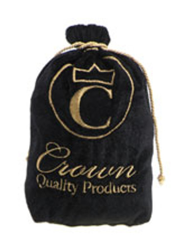 Crown Quality Products Onyx Black - Caesar Brush Bag