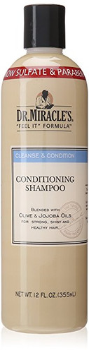 Dr. Miracle's Conditioning Shampoo, 12 Ounce