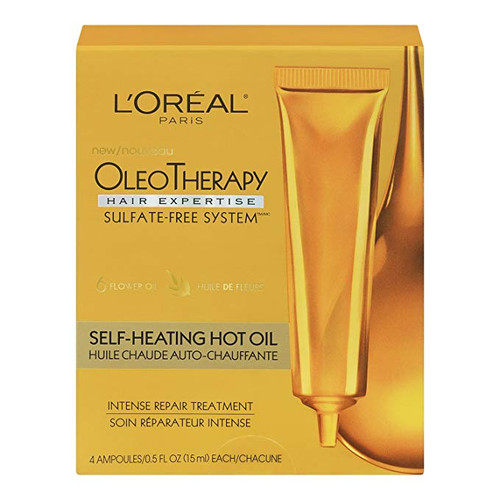 L'Oreal Hair Expertise OleoTherapy Self-Heating Hot Oil Intense Repair Treatment