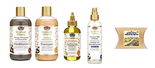 African Pride Moisturizing Miracle Combo Set
