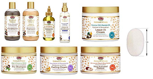 African Pride Moisturizing Miracle Combo Everything In One Order