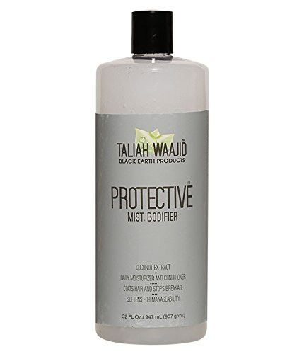 aliah Waajid Black Earth Natural Protective Mist Bodifier Leave-In Conditioner, 32 oz
