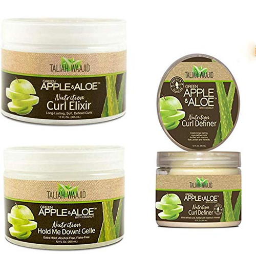 Taliah Waajid Green Apple & Aloe Nutrition 3 Kinds Set
