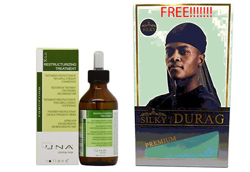 Christmas Deal! UNA Restructurizing Treatment for Damaged Hair 3.17oz With Free Silky Durag