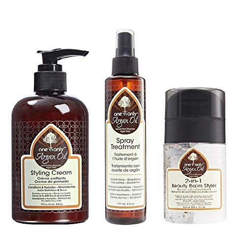 One'N Only Argan Oil Combo Set (CREAM&SPRAY&2IN1-BALM)