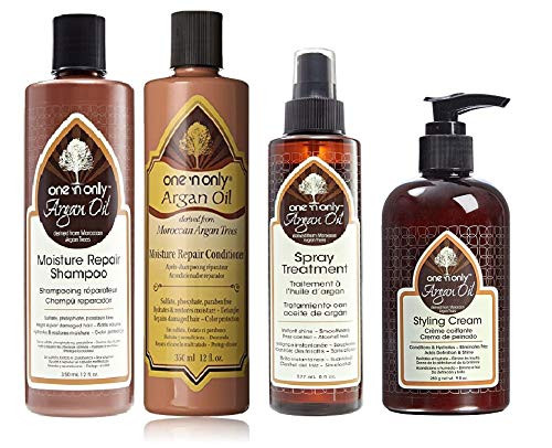 One 'n Only Argan Oil Moisture Combo Set (SH&COND&TREAT&CREAM)
