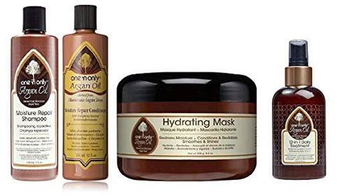 One N' Only Argan Oil Moisture Combo Set (SH&COND&12IN1&MASK)