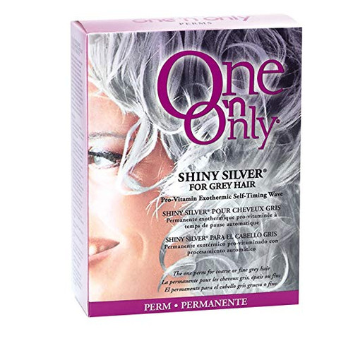 One 'n Only Shiny Silver for Grey Hair Perm with Argan Oil Kit