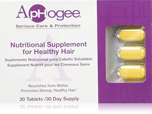 APHOGEE Nutritional Supplement for Healthy Hair (30 Day-Supply)