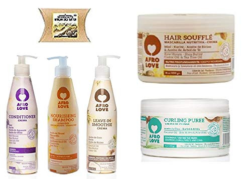 Afro Love Combo Set You Can Choose (SH&COND&LV-IN&PUREE&SOUFFLE)