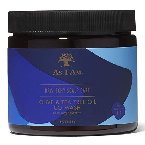 AS I AM DRY ITCHY SCALP CARE CO-WASH 16oz