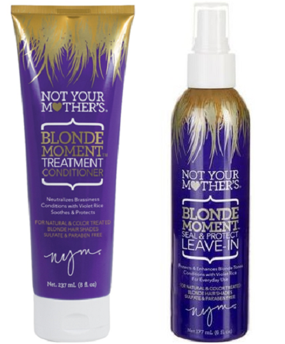 Not Your Mother's Blonde Moment Leave-In and Conditioner Combo