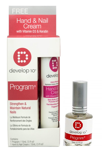 Develop 10 Program Strenthen & Maintain Natural Nails 15ml