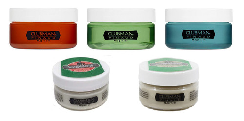 Clubman Pomade Travel Size 1.7oz (Pick Your Scent)