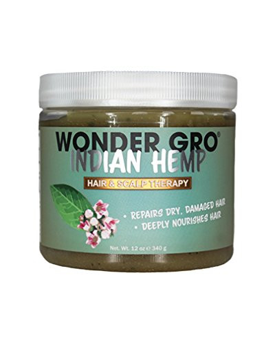 Wonder Gro Indian Hemp Hair&Scalp Therapy Hair Grease Pomade 12oz