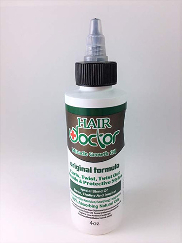 Hair Doctor Miracle Growth Oil Original Formula 4oz