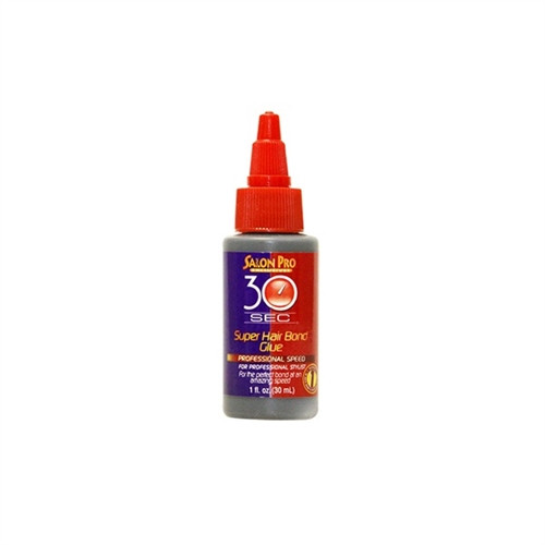 Salon Pro 30 Second Super Hair Bonding Glue 1 Oz