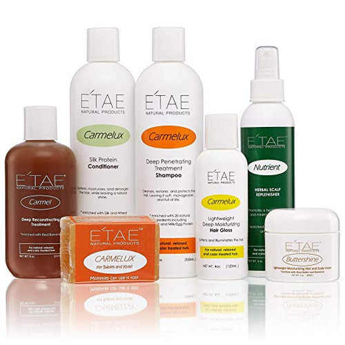 ETAE COMBO With Shampoo,Conditioner,Treatment,KidsBarShampoo,Hairgloss,Nutrient,Buttershine Combo