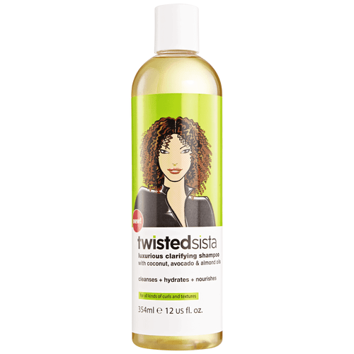 Twisted Sista Luxurious Clarifying Shampoo 12oz