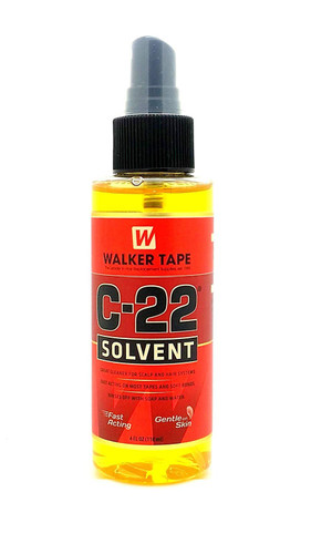 Walker Tape C22 Solvent 4Oz Spray For Lace Wigs & Toupees