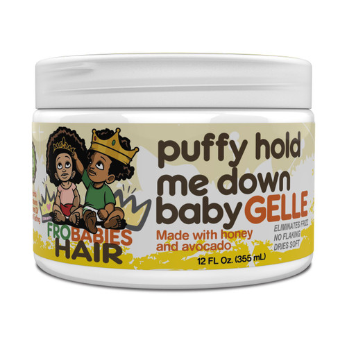 Fro Babies Hair Puffy Hold Me Down Baby Gelle 12 fl oz/355 ml