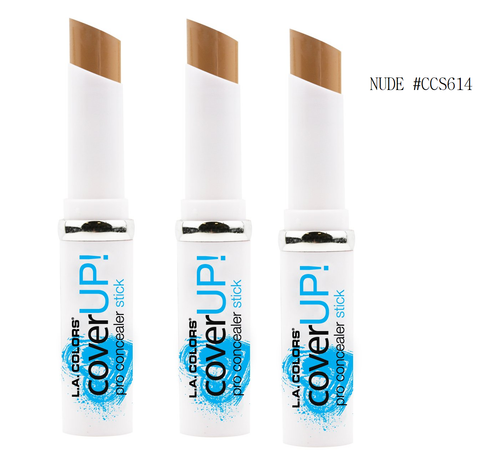 L.A Colors Cover UP Pro Concealer Stick, (Pack of  3)