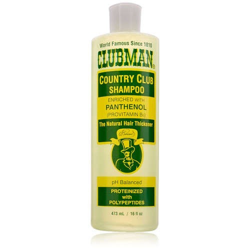 Clubman Country Club Shampoo 16 oz