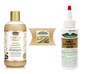 African Pride Moisture Miracle Honey & Coconut Shampoo , 12 Fl.oz with Wild Growth Hair Oil